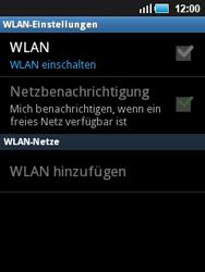 Samsung S5570 Galaxy Mini - WLAN - Manuelle Konfiguration - Schritt 6