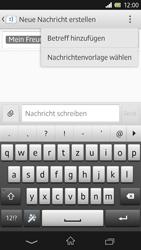 Sony Xperia Z - MMS - Erstellen und senden - 12 / 20