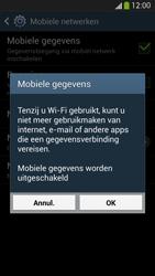 Samsung I9505 Galaxy S IV LTE - Internet - Mobiele data uitschakelen - Stap 7