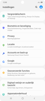 Samsung galaxy-s10-lite-dual-sim-sm-g770f - Beveiliging en ouderlijk toezicht - Hoe wijzig ik mijn SIM PIN-code - Stap 4