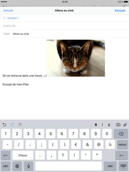 Apple iPad Pro (9.7) - E-mail - envoyer un e-mail - Étape 11