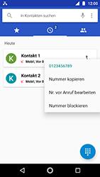 Motorola Moto G5s - Anrufe - Anrufe blockieren - Schritt 5