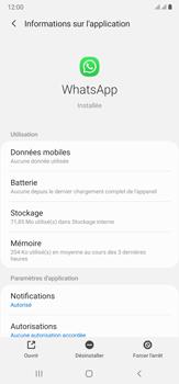 Samsung Galaxy Note20 Ultra 5G - Applications - Supprimer une application - Étape 6