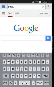 Samsung Galaxy Note Edge - Internet und Datenroaming - Verwenden des Internets - Schritt 5