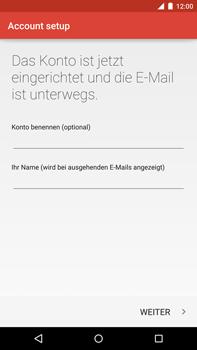 Motorola Google Nexus 6 - E-Mail - Konto einrichten - Schritt 26
