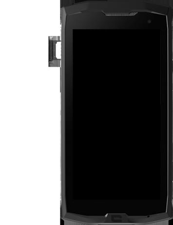 Crosscall Core M4 - Premiers pas - Insérer la carte SIM - Étape 6