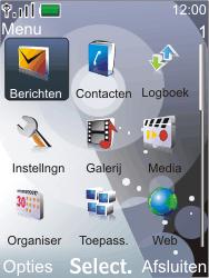 Nokia 7210 supernova - SMS - Handmatig instellen - Stap 3
