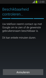 Samsung S7390 Galaxy Trend Lite - Applicaties - Account aanmaken - Stap 10