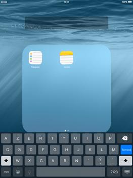 Apple iPad mini - iOS 8 - Prise en main - Personnalisation de votre écran d
