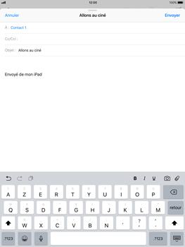 Apple iPad Air iOS 11 - E-mail - envoyer un e-mail - Étape 6