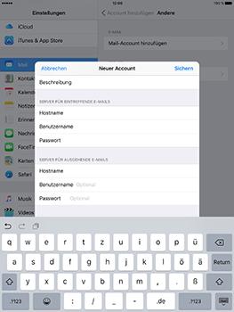 Apple iPad Mini 4 - E-Mail - Konto einrichten - 14 / 29