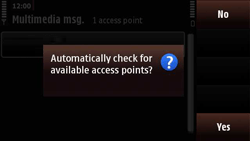 Nokia N97 Mini - MMS - Manual configuration - Step 8