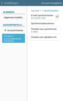 Samsung Galaxy Tab4 8.0 4G (SM-T335) - E-mail - Instellingen KPNMail controleren - Stap 8
