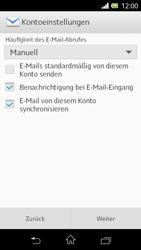 Sony Xperia L - E-Mail - Konto einrichten - 1 / 1