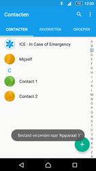 Sony E5823 Xperia Z5 Compact - Contactgegevens overzetten - delen via Bluetooth - Stap 11