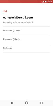 Nokia 7 Plus - E-mail - Configuration manuelle - Étape 11