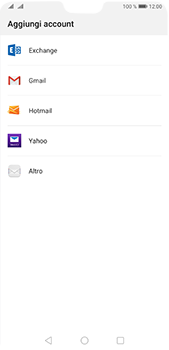 Huawei P20 Pro - Android Pie - E-mail - 032c. Email wizard - Outlook - Fase 4