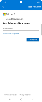 Samsung Galaxy Z Flip Single-SIM + eSIM (SM-F700F) - E-mail - 032c. Email wizard - Outlook - Stap 10