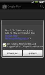 HTC A8181 Desire - Apps - Konto anlegen und einrichten - Schritt 18