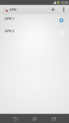 Sony Xperia Z3 - Internet et roaming de données - Configuration manuelle - Étape 16
