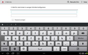 Samsung N8000 Galaxy Note 10-1 - E-Mail - Konto einrichten - Schritt 5