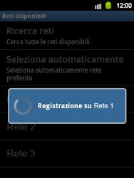 Samsung Galaxy Y - Rete - selezione manuale della rete - Fase 12