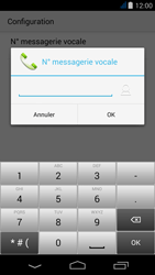 Acer Liquid Jade - Messagerie vocale - Configuration manuelle - Étape 9