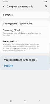 Samsung Galaxy S9 Plus - Android Pie - Données - créer une sauvegarde avec votre compte - Étape 5