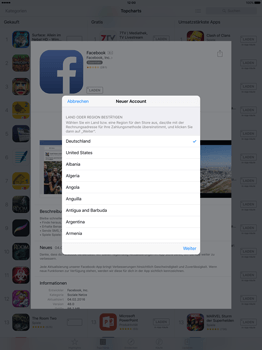 Apple iPad Pro 12.9 inch - Apps - Konto anlegen und einrichten - 19 / 35