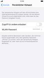 Apple iPhone SE (2020) - iOS 14 - WiFi - So aktivieren Sie einen WLAN-Hotspot - Schritt 6