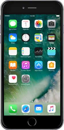 Apple Apple iPhone 6 Plus iOS 10 - iOS features - iMessage functies - Stap 8