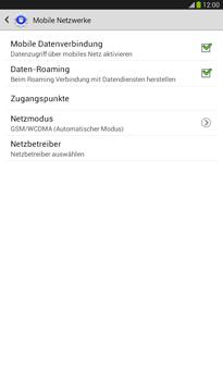 Samsung T211 Galaxy Tab 3 7-0 - Ausland - Im Ausland surfen – Datenroaming - Schritt 9