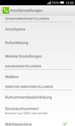 Alcatel OT-5050X Pop S3 - Anrufe - Rufumleitungen setzen und löschen - Schritt 6