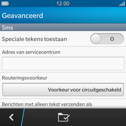 BlackBerry Q5 - SMS en MMS - Handmatig instellen - Stap 7