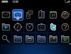 BlackBerry 9700 Bold - E-Mail - E-Mail versenden - Schritt 3