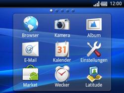 Sony Ericsson Xperia X10 Mini Pro - Ausland - Im Ausland surfen – Datenroaming - Schritt 5