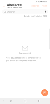 Samsung Galaxy S8 Plus - Android Oreo - E-mail - Configuration manuelle - Étape 7