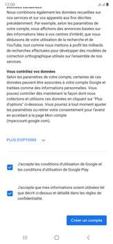 Samsung Galaxy Note20 Ultra 5G - Applications - Créer un compte - Étape 17