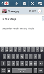 Samsung S7580 Galaxy Trend Plus - e-mail - hoe te versturen - stap 18
