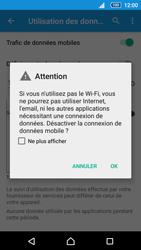Sony Xperia Z5 Compact - Internet et connexion - Désactiver la connexion Internet - Étape 6