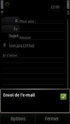 Nokia E7-00 - E-mail - envoyer un e-mail - Étape 12