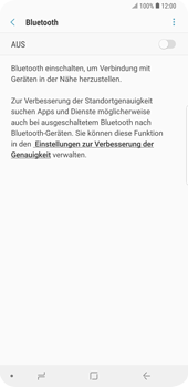 Samsung Galaxy S9 Plus - Bluetooth - Geräte koppeln - Schritt 8
