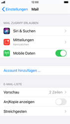 Apple iPhone SE - iOS 14 - E-Mail - 032b. Email wizard - Yahoo - Schritt 4