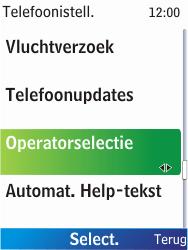 Nokia X2-00 - netwerk en bereik - gebruik in binnen- en buitenland - stap 5
