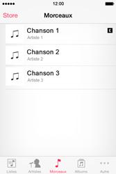 Apple iPhone 4 - Photos, vidéos, musique - Ecouter de la musique - Étape 4