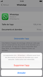 Apple iPhone 7 - iOS 12 - Applications - Comment désinstaller une application - Étape 7