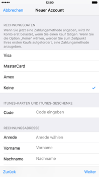 Apple iPhone 6 Plus - Apps - Konto anlegen und einrichten - 29 / 38