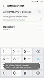 Samsung Galaxy S6 - Anrufe - Anrufe blockieren - 11 / 12