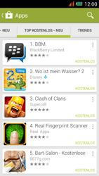 Alcatel One Touch Idol Mini - Apps - Installieren von Apps - Schritt 13