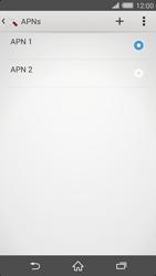 Sony Xperia Z2 - Internet - Apn-Einstellungen - 0 / 0